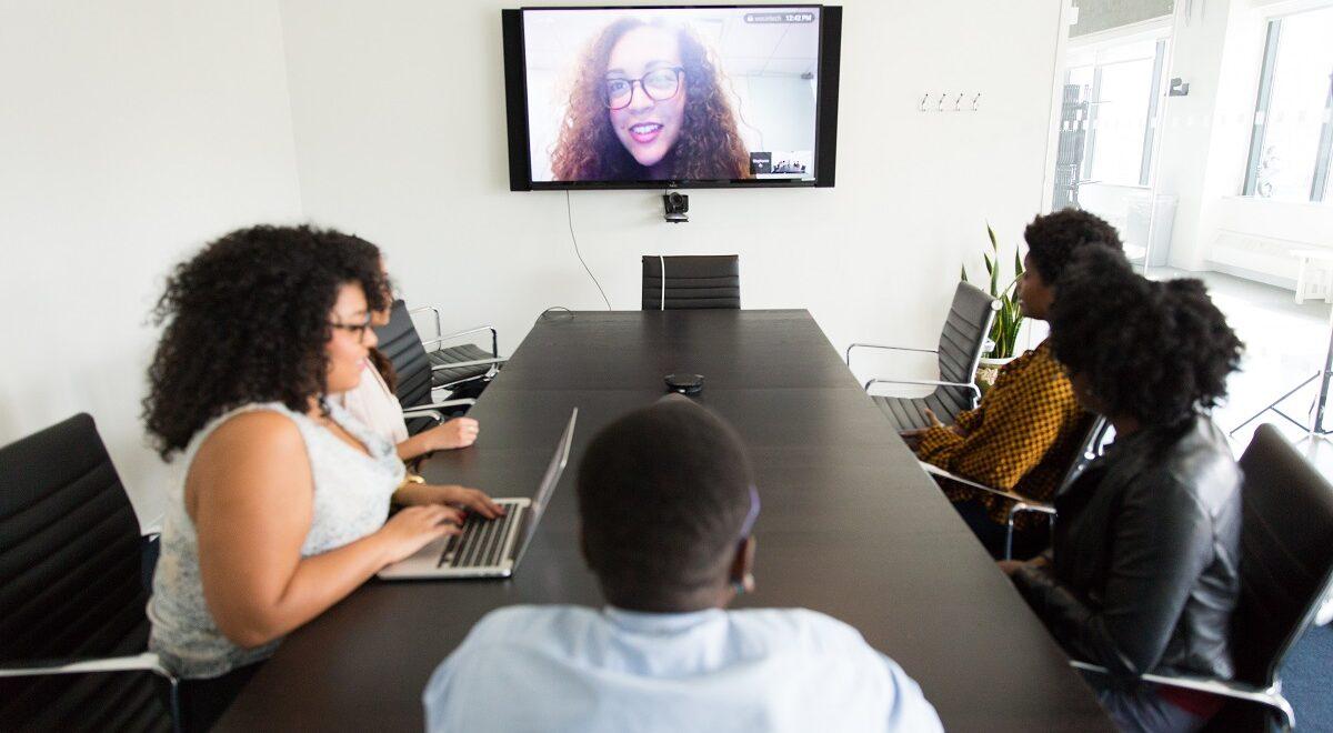 People viewing webinar